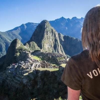 Gap Year volunteer in Peru